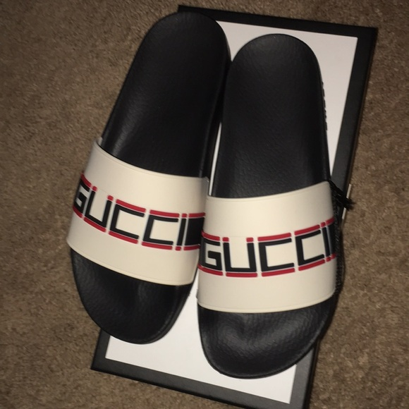07bced166 Gucci Shoes | Rubber St Sport Sandals | Poshmark